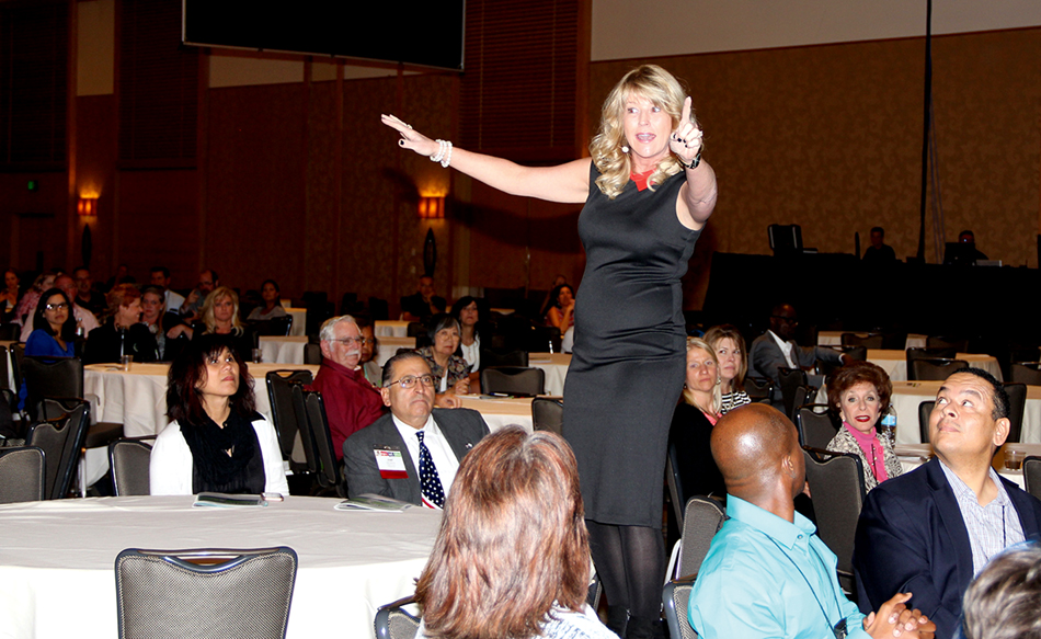 Kim Bearden, general session speaker and co-founder and executive director of the Ron Clark Academy